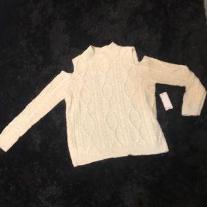 Dex Cold Shoulder Sweater